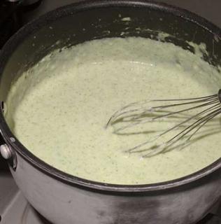 Como fazer molho de brócolis para salmão fresco