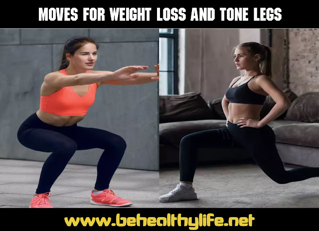 Two moves For Weight Loss and tone legs