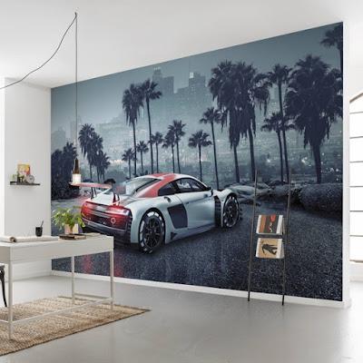 Fotomural Audi R8 - Decoración Juvenil Chicos