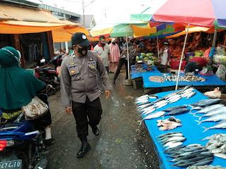 Patroli Dialogis Siang Hari, Personel Polsek Alla Sampaikan Himbauan Kamtibmas Dan Prokes