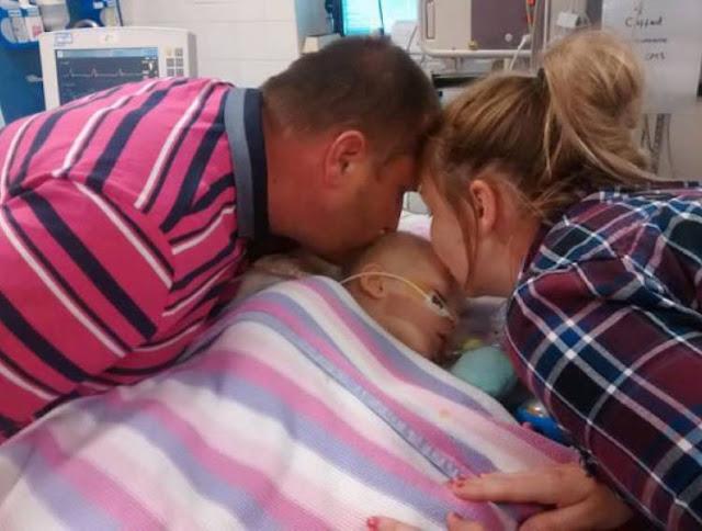 Они Поцеловали Дочку В Последний Раз, Перед Тем Как Отключить Аппараты Жизнеобеспечения