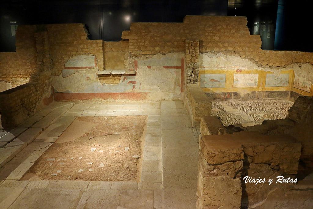 Domus dell'Ortaglia, museo santa Giulia de Brescia