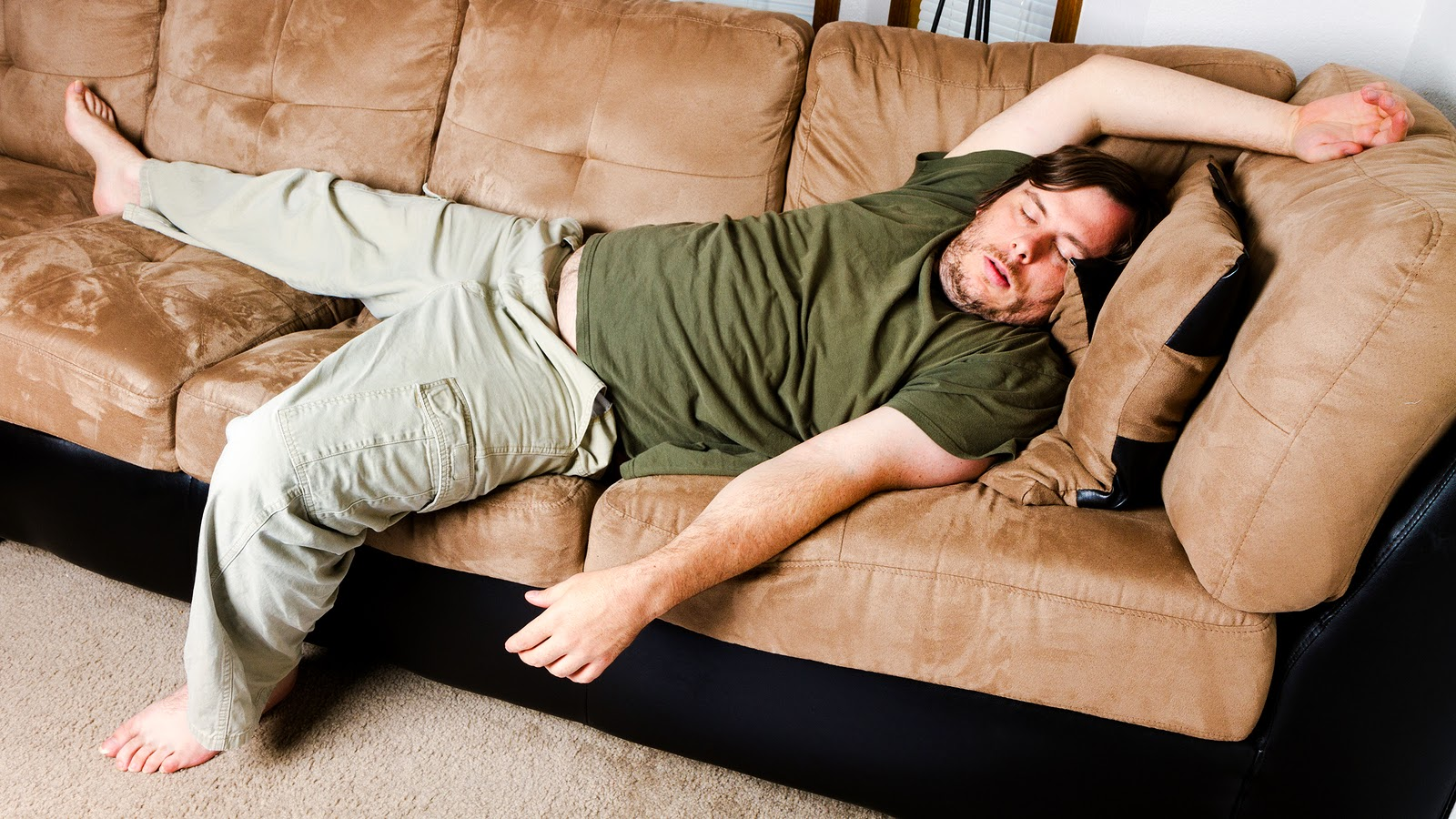 sleeping on the couch The Back Dr's Blog  Better Posture, Better Sleep & Pain Relief: My  sleeping on the couch