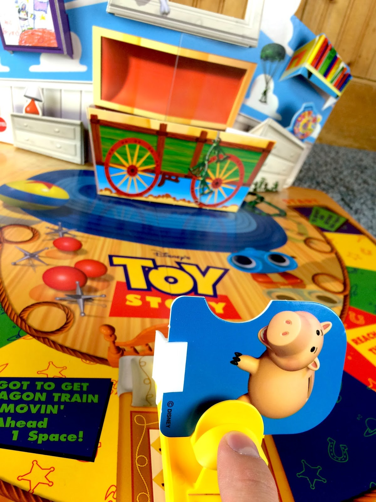 Toy Story 1 Games : Dan the pixar fan toy story quot toys awaaaay board game