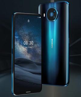 nokia 8.3 5G handphone pertama dari nokia yang mendukung jaringan 5G