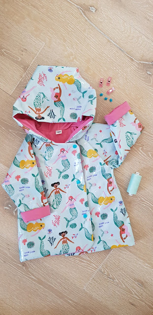 Ikatee Grand'Ourse Raincoat Mermaid
