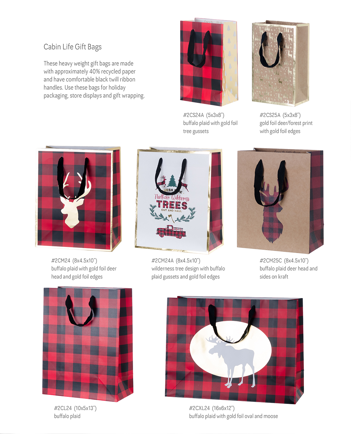 merry and bright gift wrapping and entertaining inspiration | Creative Bag