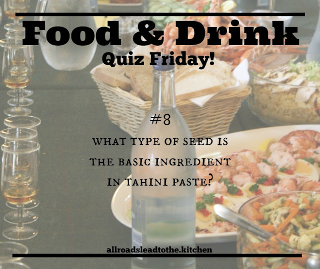 Food & Drink Quiz Friday no.8