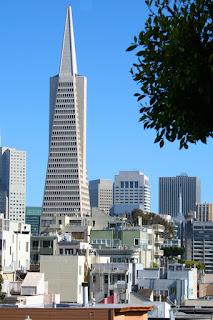 TransAmerica Pyramid, San Francisco skyline
