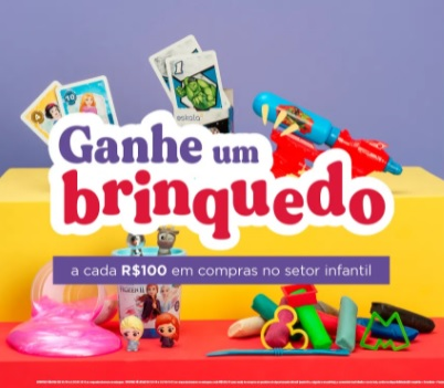 Promoção Dia das Crianças 2021 Lojas Eskala Ganhe Brinquedo