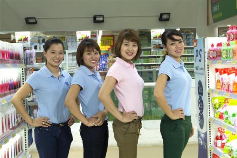 Mẫu áo thun đồng phục nhân viêncủa hãng - Hình 2