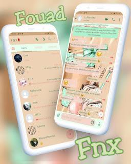 Vasocute Theme For YOWhatsApp & Fouad WhatsApp By Ave fénix