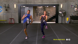 Rear Snap Kick - MMA Shred - Core de Force