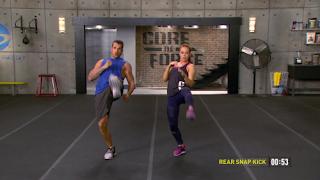 Rear Snap Kick - MMA Shred - Core de Force