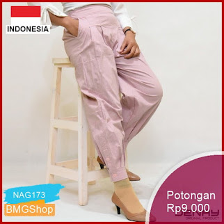 NAG173 Celana Panjang Wanita Best Seller Basic Murah Bmgshop