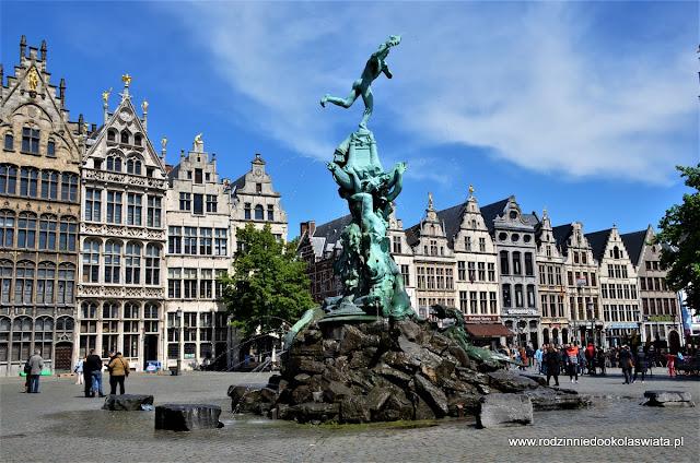 Belgia z dziećmi- Antwerpia