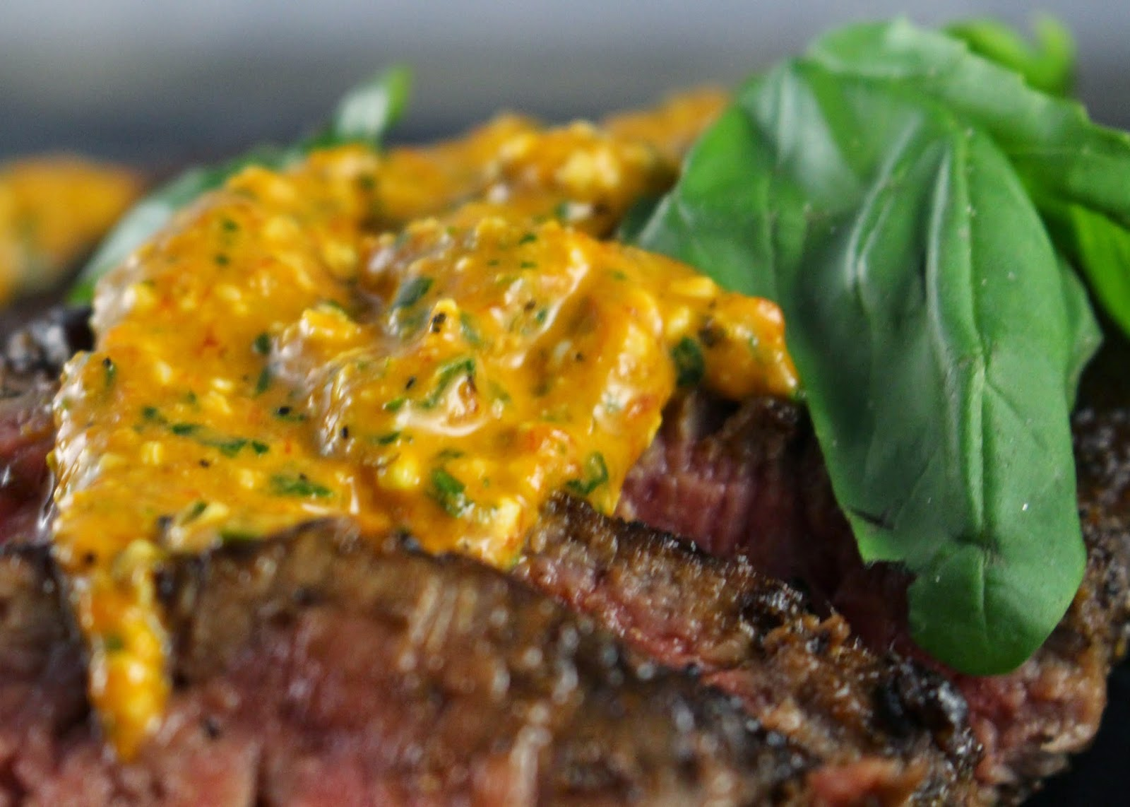 balsamic basil marinated steak
