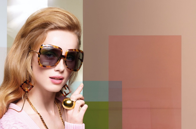 Fendi features sunglasses in Fendi spring-summer 2020 campaign