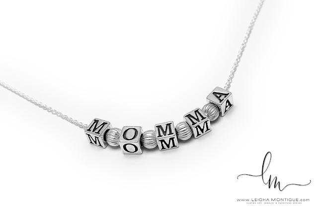 Momma Necklace for Mother's Day - Mommy, Mom, Mum, Mummy, Granny, Grandma, Nana...