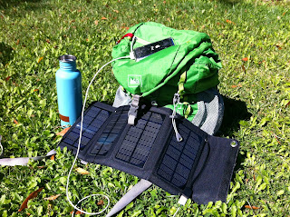Iphone Solar Charger Backpacking