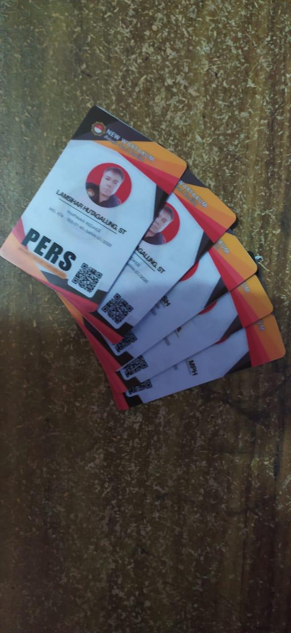 Pembuatan Visitor Cards / Kartu Parkir Bahan Akrilik Bolak ...