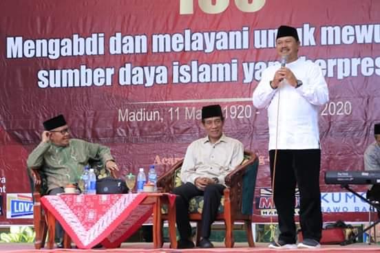 Walikota Madiun Hadiri Peringatan HUT Ke-100 Islamiyah