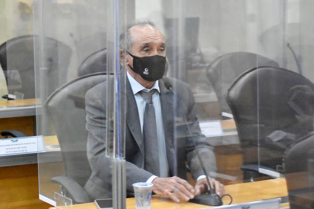 Getúlio Rêgo requer transmissão das reuniões da CPI da Covid-19