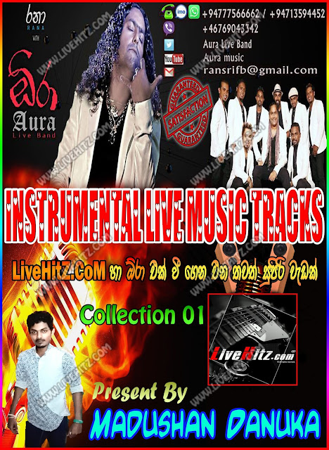 RANA WITH AURA INSTRUMENTAL LIVE MUSIC TRACKS COLLECTION 01