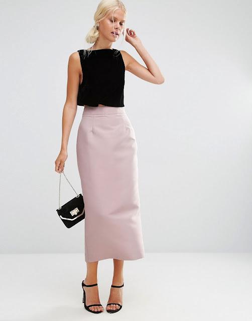faldas largas como usarlas