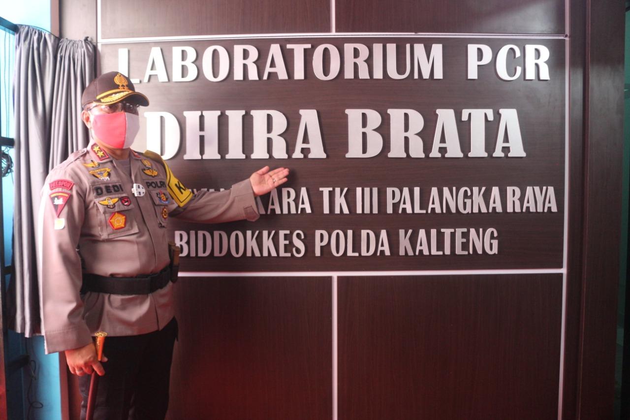 Dhira Brata Peduli Covid-19, Laboratorium PCR Pertama Kali se-Indonesia diresmikan