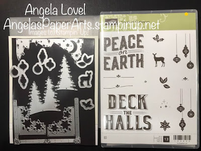 Stampin' Up! Carols of Christmas and Card Front Builder Thinlits from Angela's PaperArts