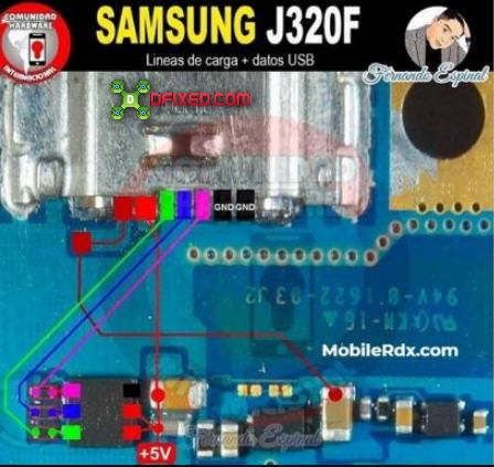 Cara Memperbaiki Samsung Galaxy J3 J320F No Charging, Fake Charging