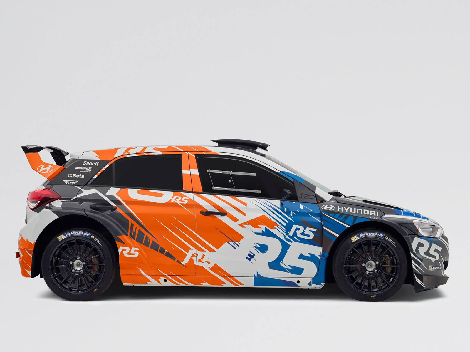 Hyundai Motorsport Rolls Out New I20 R5 At Ypres Rally