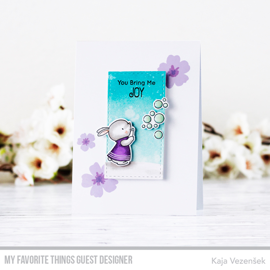 Handmade card by card by Kaja Vezensek featuring products from My Favorite Things #mftstamps
