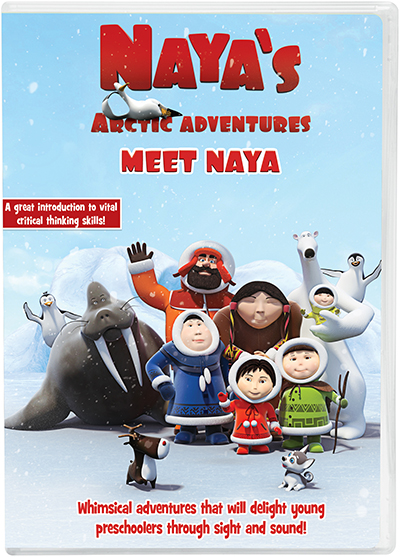 NCircle Entertainment Naya's Arctic Adventure Meet Naya