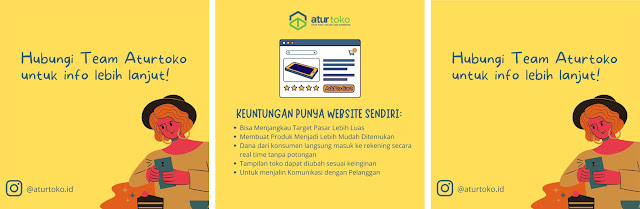 BuatToko Website Ecommerce Murah dan Gampang! Hanya 499 rb