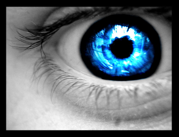 have blue eyes, and many babies are born with particularly deep blue ...