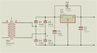 Circuit de charge 5v-1A