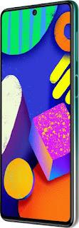 Samsung Galaxy f62 in India