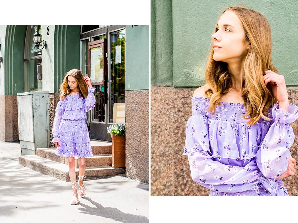floral-summer-dress-fashion-inspiration-2019-blogger-bikbok-kesämekko-kukkamekko-muotiblogi-helsinki