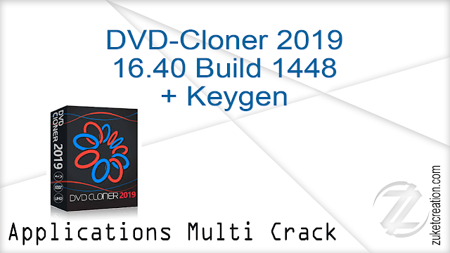 DVD-Cloner 2019 16.40 Build 1448 + Keygen   |  47 MB