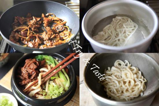 Resep Udon Kuah dengan Daging Sapi  JTT