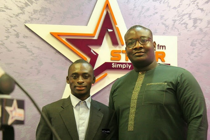 #InspirationalChat: Learn the craft and identify your gifts. It makes you excellent in whatever you do - Francis Abban to young journalists. #BeInspired!