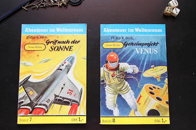 Heftromane aus dem Semrau Verlag 1958 und 1959