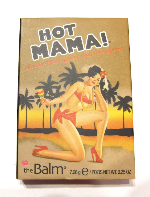 THE BALM COSMETICS  Hot Mama Blush.