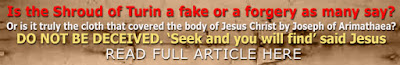 Is the Shroud of Turin a fake or a forgery as many say?