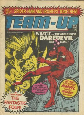 Team-Up #12, Daredevil