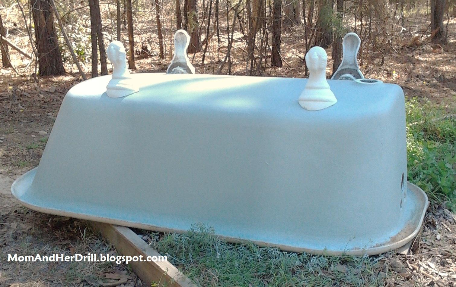 Refinishing Porcelain Bathtubs Amp Sinks Part 2 Mom And