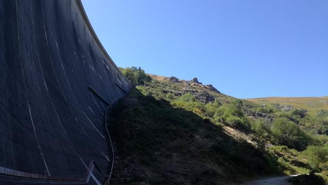 Escadaria Barragem Vilarinho das Furnas