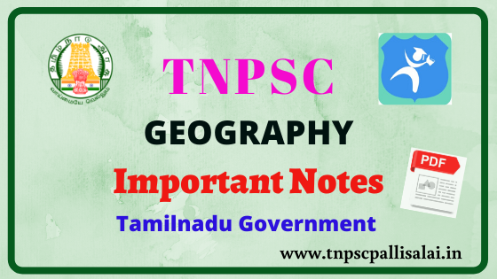 Geography full study material for all tnpsc exams